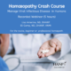 Homeopathy Crash Course