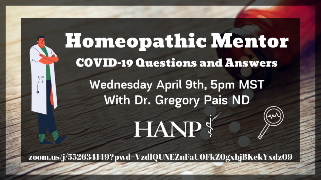 Homeopathic Mentor Covid-19